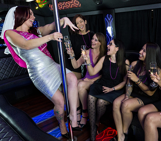 Luxury Limo for Bachelorette Party